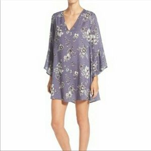 "Lush ""Whitney"" floral tunic dress"
